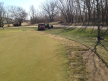 Fescue Sod Being Installed